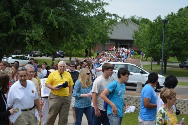 Polish-American community at celebrating canonization Tallahassee, Florida