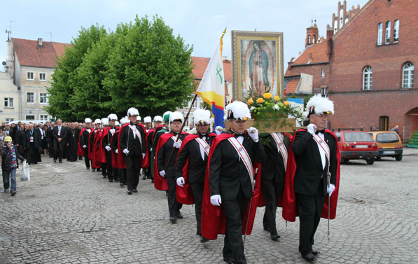 Procession of Our Lady of Guadalupe Poland